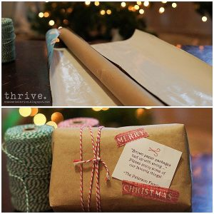 7 Things to do with wrapping paper centers - choose-to-thrive.com